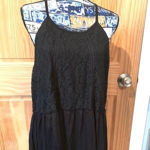 Torrid Black Spaghetti Strap Shirt Size 3